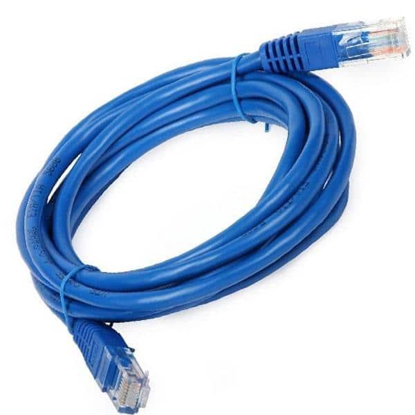 Cable de Red UTP Categoría 5e Ponchado 2 / 5 / 10 / 20 metros